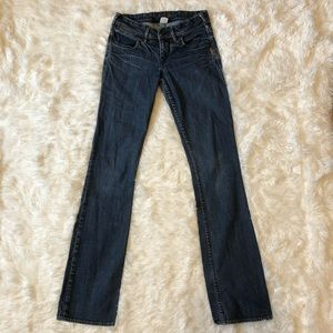 ◾️Silver Western GloveWorks Toni Straight Leg Jean